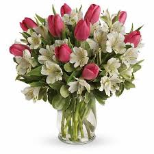 flower delivery cheap pink tulip bouquet of cheap flowers and pink tulips for cheap