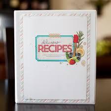 scrapbook binder 96 best scrapbook recipe album images on bricolage
