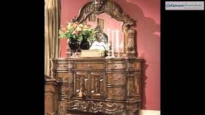 windsor court mansion bedroom collection from aico furniture youtube