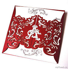 indian wedding cards in india indian wedding invitations myshaadi in india wedding card
