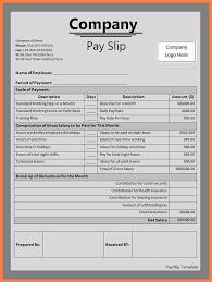 salary receipt template 3 salary invoice template salary slip
