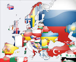 Europe Capitals Map by Flag Map