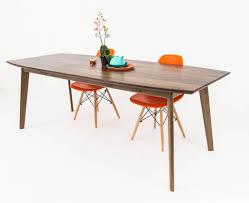 the santa monica modern walnut dining table