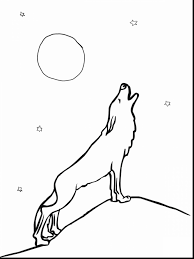 amazing coloring page anime wolf drawings with wolves coloring