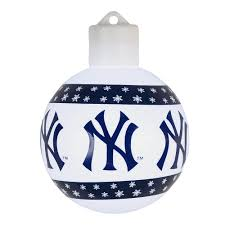 new york yankees lighted christmas ornament christmas tree shops