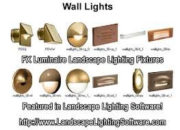 fx luminaire wall light fx luminaire wall lights featured in landscape lighting design