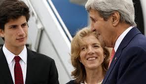 u s ambassador caroline kennedy welcomes sec kerry to japan for