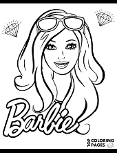 barbie ken coloring pages girls print free