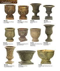 furniture contemporary fiberglass planters for garden decoration