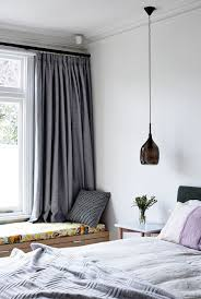 beautiful dark colored glass pendant lighting for bedroom with