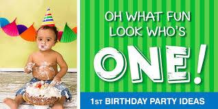 1st birthday party 1st birthday party ideas birthday in a box