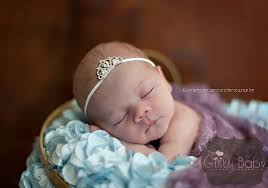 headband newborn tiny rhinestone tiara infant headband