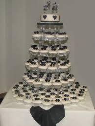 heart cup cake wedding cake cccakes