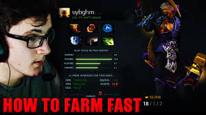 miracle dota 2 play antimage item build how to farm fast