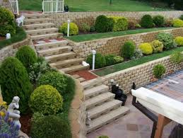 Backyard Wall Backyard Retaining Wall Designs Inspiring Fine Retaining Wall