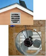 installing a gable vent fan solar gable fans solaratticfans net