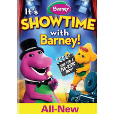 barney it s showtime with barney dvd target