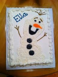 olaf sheet cakes google search kids cakes pinterest olaf
