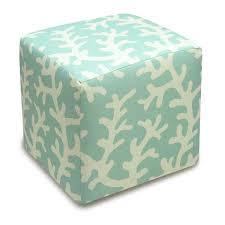 Coral Ottoman 123 Creations Coral Cube Ottoman Reviews Wayfair