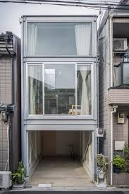 narrow house designs a narrow house built within heavily populated osaka design milk