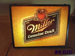 miller genuine draft light auction listings in tennessee auction auctions k bidusa