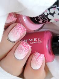 acrylic nail designs pink and white top cute pink and white