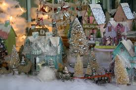 christmas decorating flour hand