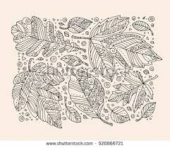 thanksgiving day book forest leaves happy thanksgiving day stock vector 520866721