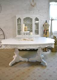 Painted Shabby Chic Furniture - Shabby chic dining room set