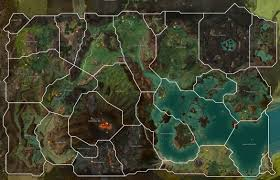 Gw2 World Map by Guild Wars 2 Forum
