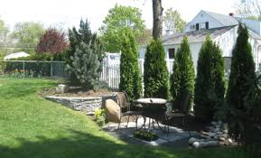 Small Backyard Privacy Ideas Triyae Com U003d Landscaping Backyard Privacy Various Design
