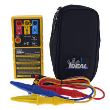 ideal 3 phase motor rotation tester 61 521 the home depot