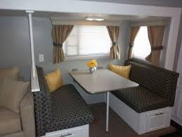 Rv Interiors Images 16 Year Old Jayco Travel Trailer Gets Interior Decor Makeover
