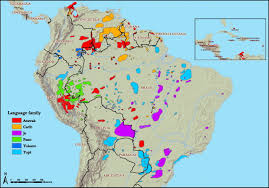 Language Map Of America by Evolutionary History Of Partible Paternity In Lowland South America