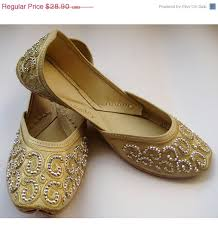 wedding shoes size 9 day sale 20 us size 9 gold sequin bridal ballet flats