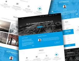40 best free one page bootstrap websitetemplates of 2017