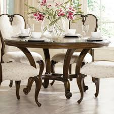 american drew dining table american drew jessica mcclintock 60 inch round dining table in mink