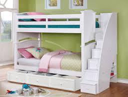 Bunk Bed White Ashton Bunk Bed Rooms4kids