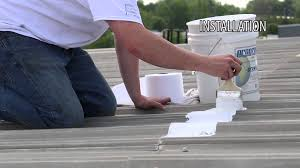 Apoc Elastomeric Roof Coating by Polyester Fabric Application Instructions Youtube
