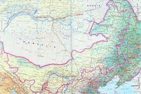 Harbin China Map by China Map Of Inner Mongolia Province China Travel Map