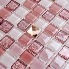 Modern Tile Bathroom - stone glass mosaic tilessmoky mountain square tiles with marble
