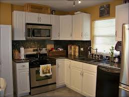 kitchen dark granite countertops designs with white cabinet side