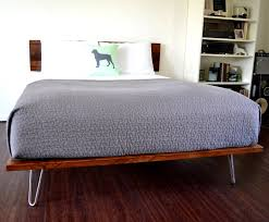 Building A Platform Bed With Legs by Hairpin Leg Bed Easy To Build Low Budget And Sturdy Platform Bed