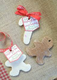 salt dough ornaments with printable three and a fish