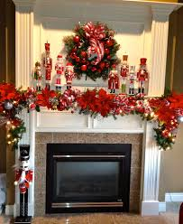 nutcracker christmas mantle christmas decorating pinterest