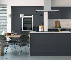 cuisine gris foncé plan de travail cuisine gris anthracite galerie avec grise newsindo co