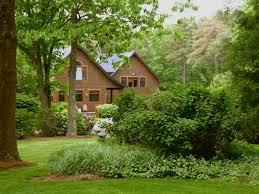 kismet u0027 secluded shingle style home with pool koi pond jamestown