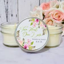 summer wedding favors floral wedding favors wedding favors candles floral favors