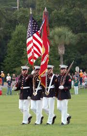 Color Guard Flags United States Marine Corps Color Guard Marine Corps Air Station
