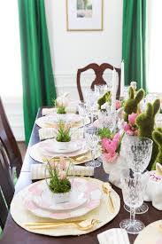 Set A Table by Easter Table Decorations U0026 Place Setting Ideas Pizzazzerie